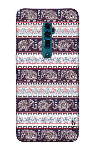 Elephant Pattern Oppo Reno 10X Zoom Cases & Covers Online