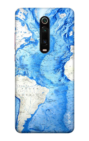 World Map Xiaomi Mi 9T Pro Cases & Covers Online