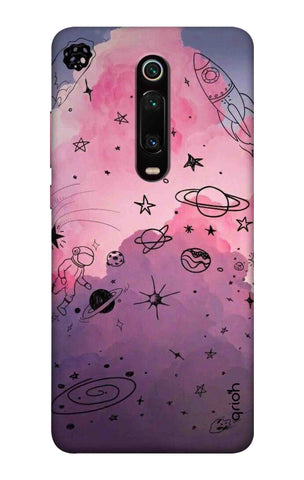 Space Doodles Art Xiaomi Mi 9T Pro Cases & Covers Online