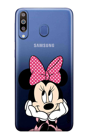 Minnie In Deep Thinking Samsung Galaxy M40 Cases & Covers Online