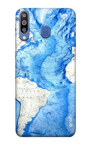 World Map Samsung Galaxy M40 Cases & Covers Online