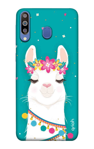 Cute Llama Samsung Galaxy M40 Cases & Covers Online
