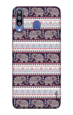 Elephant Pattern Samsung Galaxy M40 Cases & Covers Online