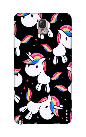 Colourful Unicorn Samsung Note 3 Cases & Covers Online