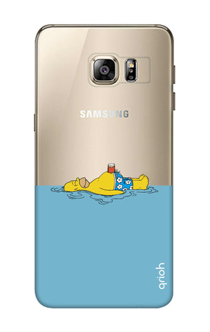 Simpson Chill Samsung S6 Edge Plus Cases & Covers Online