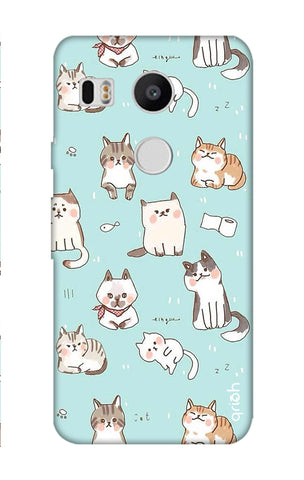 Cat Kingdom Nexus 5X Cases & Covers Online