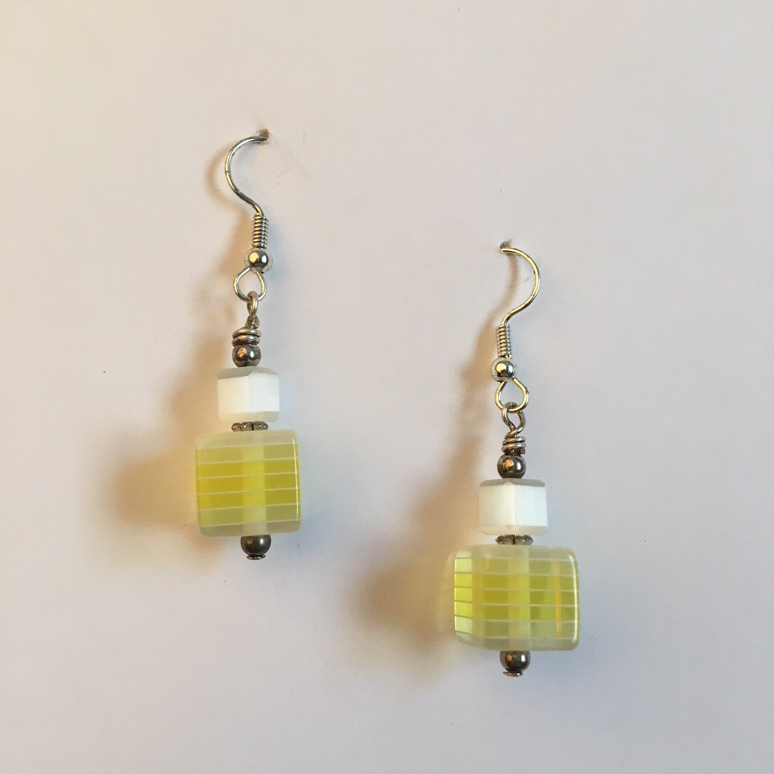 Vintage Beaded Earrings #9