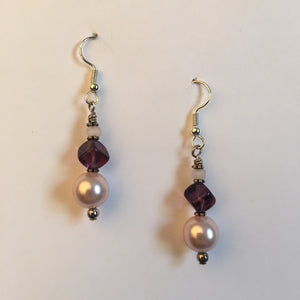 Vintage Beaded Earrings #17