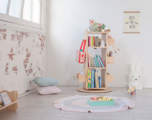 Top reasons the Revolving Bookcase is the best addition to a kids playroom