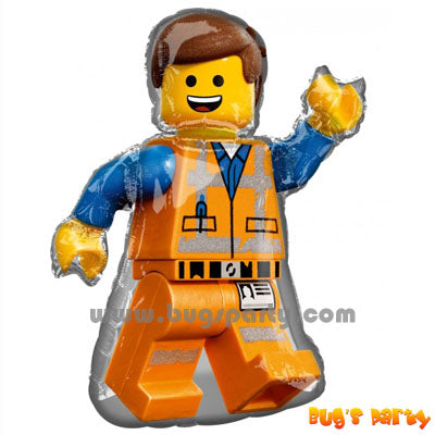 Lego City Builder character shaped Balloon