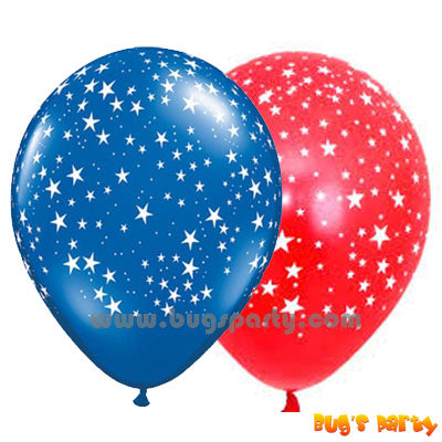 12 Starry Sky Balloons