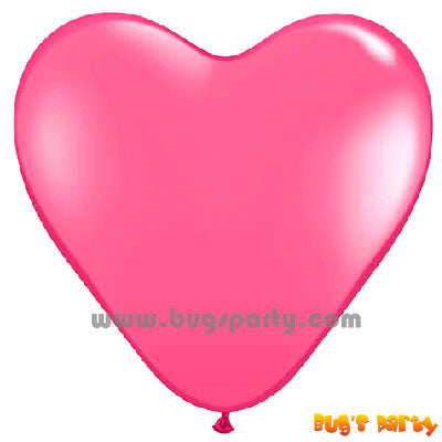 Balloon Latex D Pink Hrt