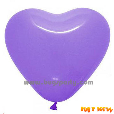 Balloon Latex Lavender Hrt