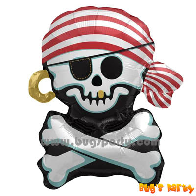 Balloon Pirate Jolly Roger