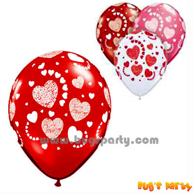 Balloon Lx Etched Hearts