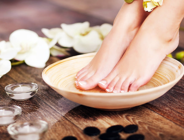 Relax with Pedicure massage
