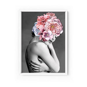 Wall art- Floral Crown I - Framed/ Unframed Art print (A-709)