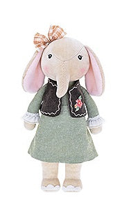 Nina - Sweet Elephant  Plush Doll (T-14)