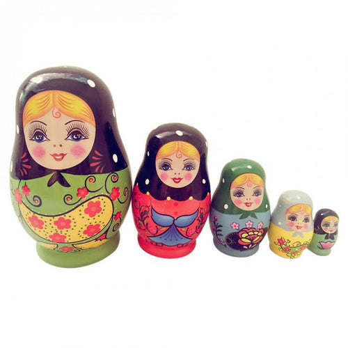 Russian Matryoshka Nesting Doll NO.1 (T-19)