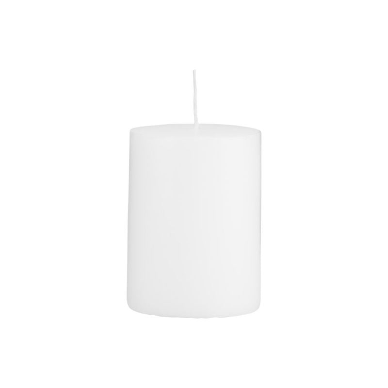 House Doctor White Candle (Ø7 x H10cm) - CPHAGEN