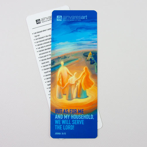 Bookmark - Jesus is the Way the Truth and the Life, John 14:6 - Ain Vares Art