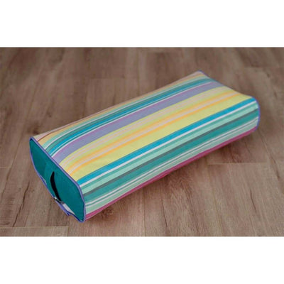Stripe It Down<br><span style='font-size: 0.4em; color: #363636; vertical-align: top;'>Yoga Bolster Cover</span> - Bolster Bra