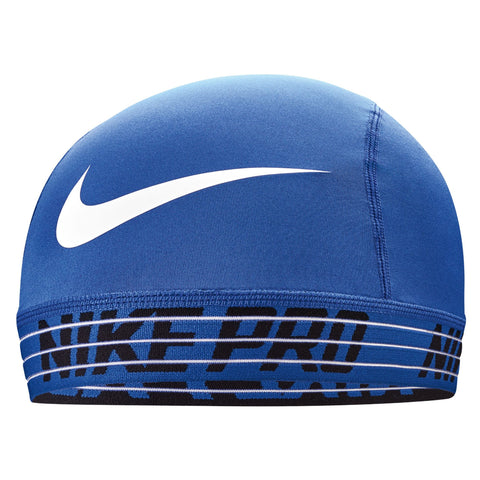 NIKE Pro Skull Cap 2.0 Royal/Black/White