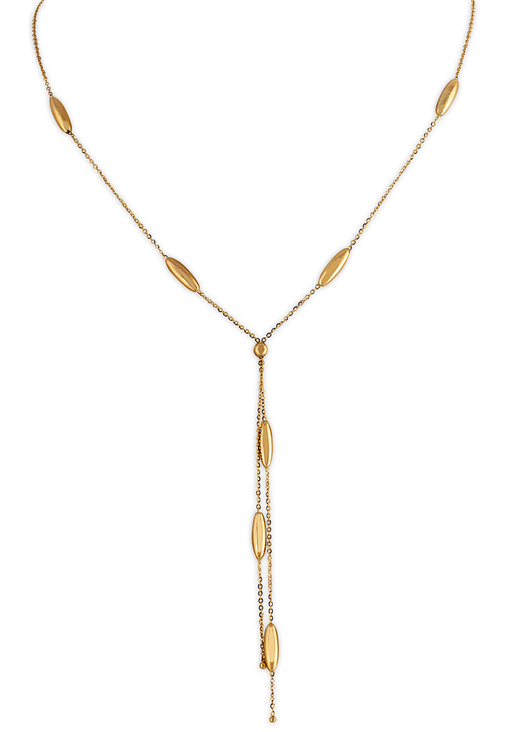 Yellow Gold Necklace Set - K.D. Jewelry Sf