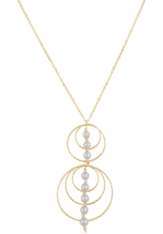Adjustable Akoya Pearl Necklace and Earring Set