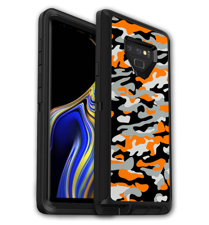 Samsung Galaxy Note 9 OtterBox Defender decorative phone case skins and unique, stylish phone case wraps.  Custom design yours online today at jwskinz.com
