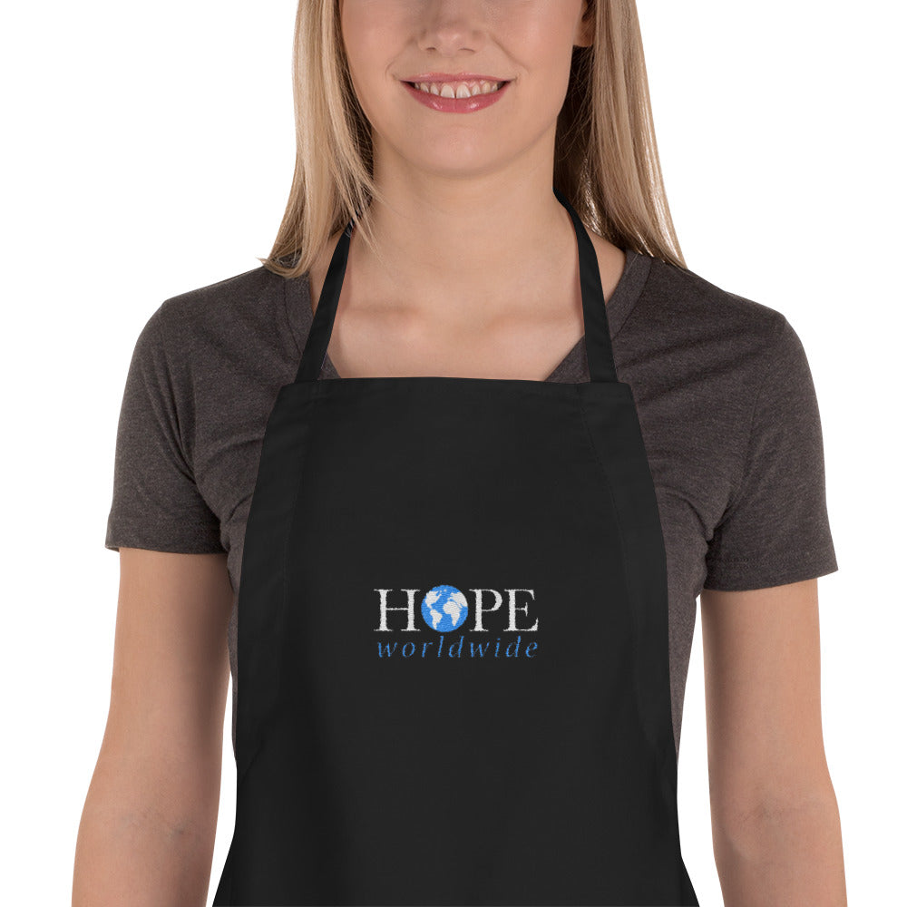 HOPEww Embroidered Apron