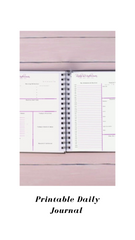 Printable Weekly Journal