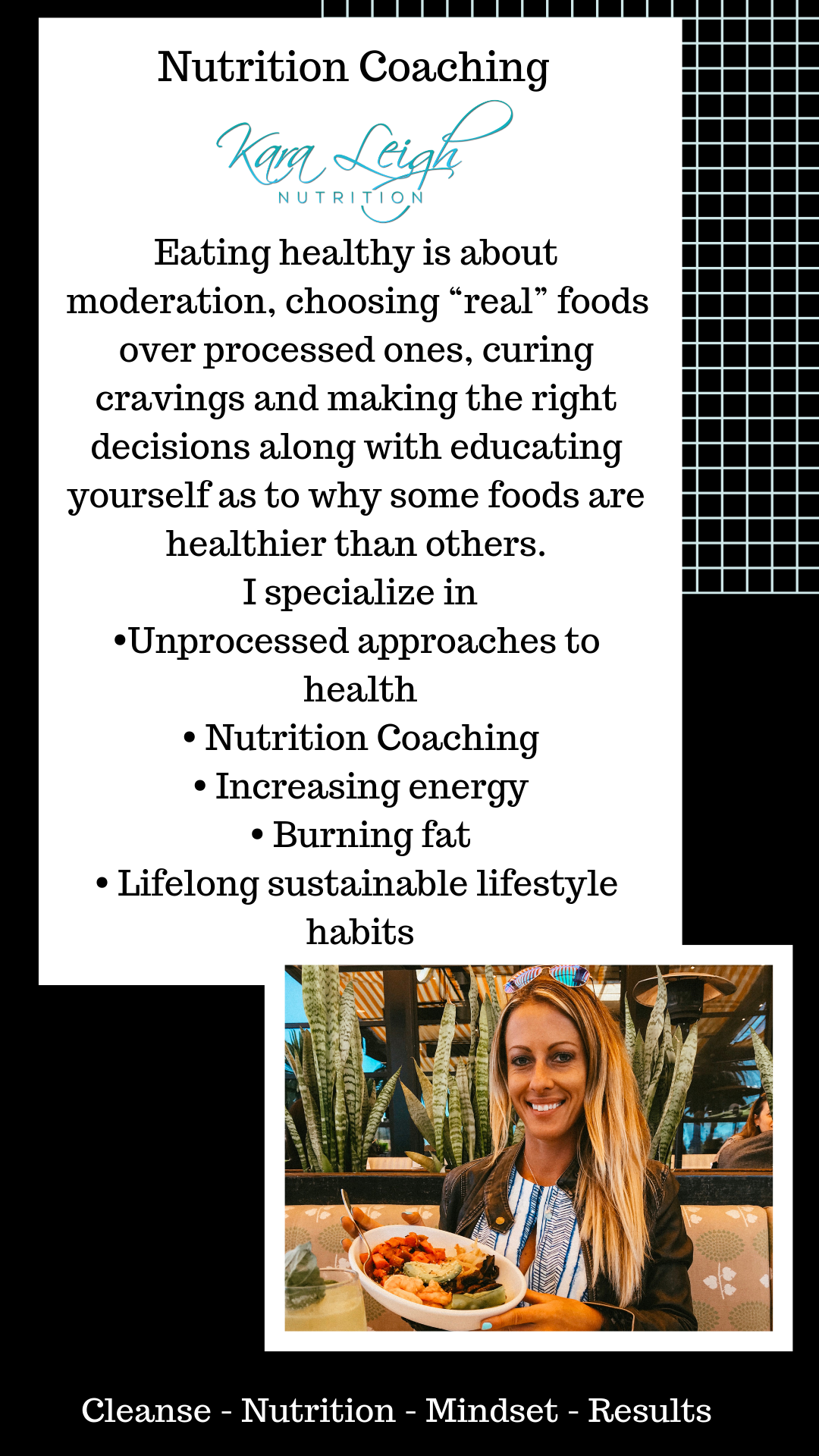1 on 1 Nutrition + Fitness Coaching: 4-8 Weeks