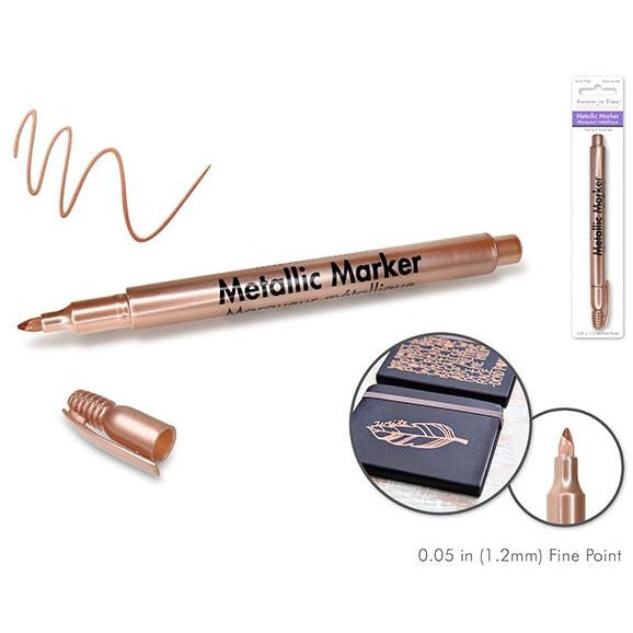 Metallic Permanent Marker Fine Point - Copper