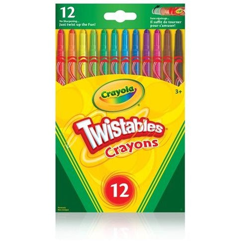 Twistable Crayons, 12/pk