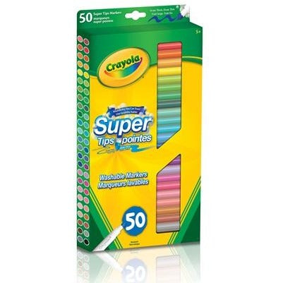 Washable Super Tips, 50/pk