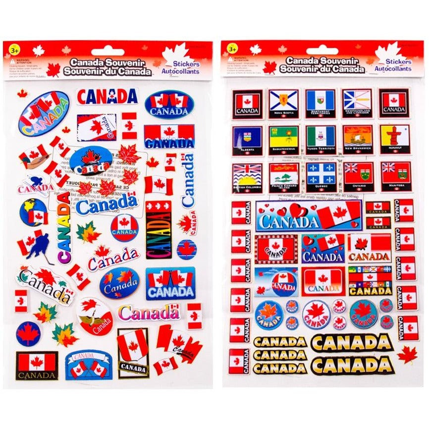 Canada Laser Stickers