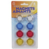 8-piece Magnetic Buttons, 3cm