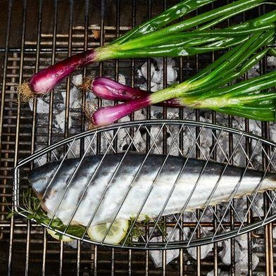 Deluxe Fish Grill Basket