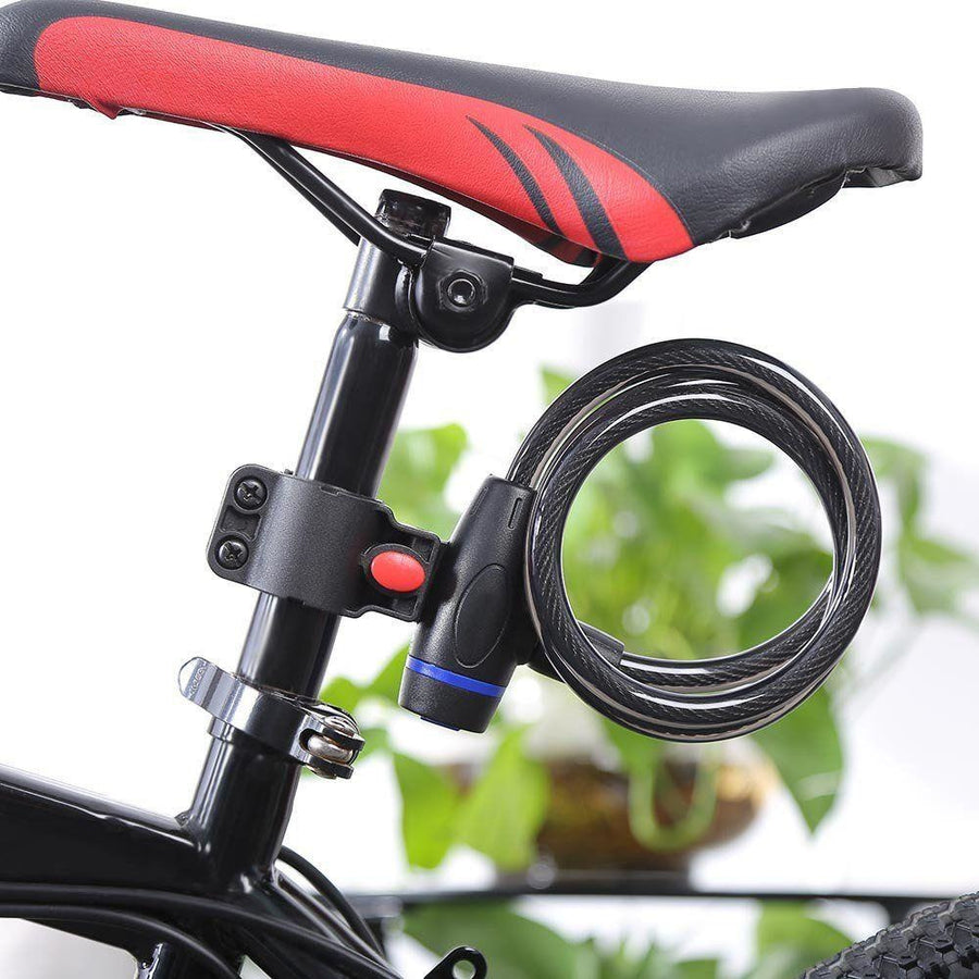 Anti-theft Ring Wire Bicycle Spiral Lock