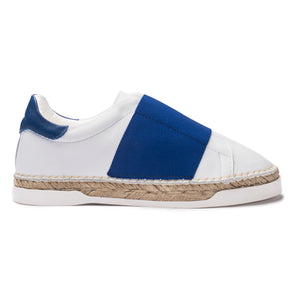 Baskets espadrilles Lancry Space - Bleu
