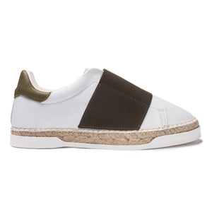 Baskets espadrilles Lancry Space - Kaki