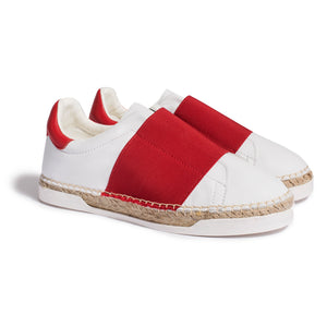 Baskets espadrilles - Rouge