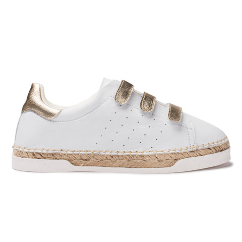 basket espadrille femme Wonder Lancry Scratch - Or