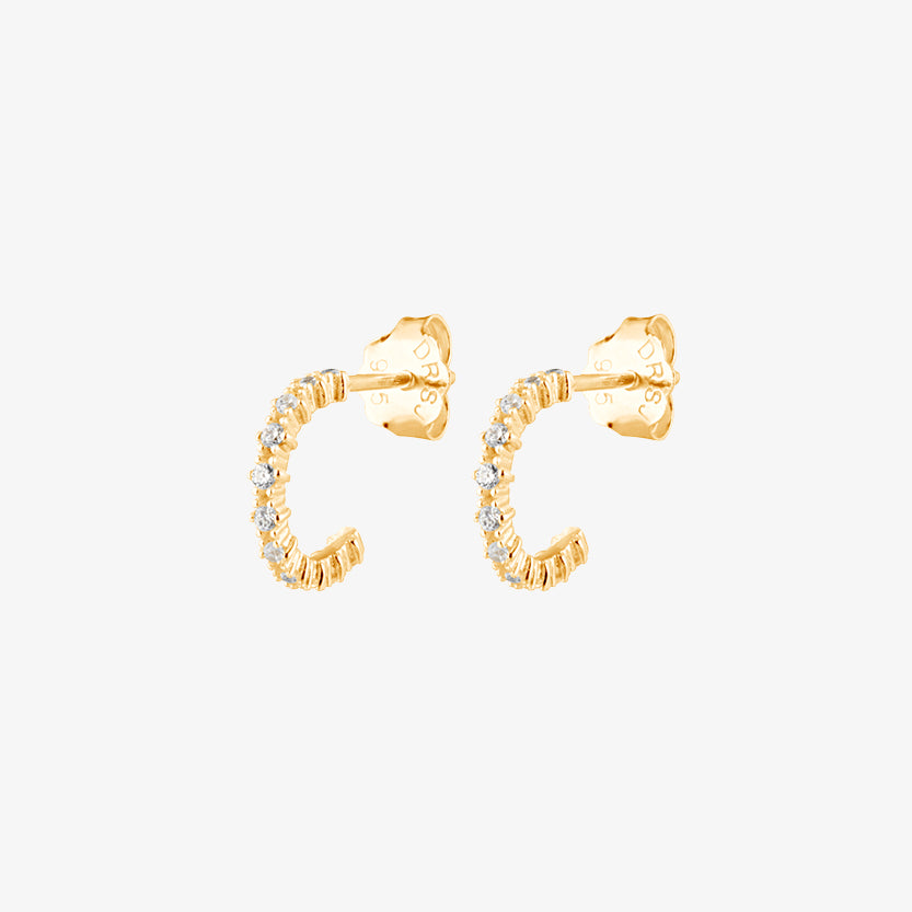 Infinity Hoops Gold