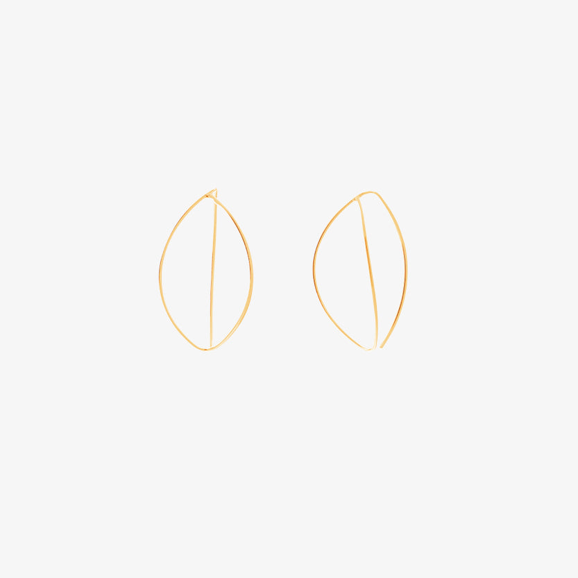 Together Mini Earrings Gold