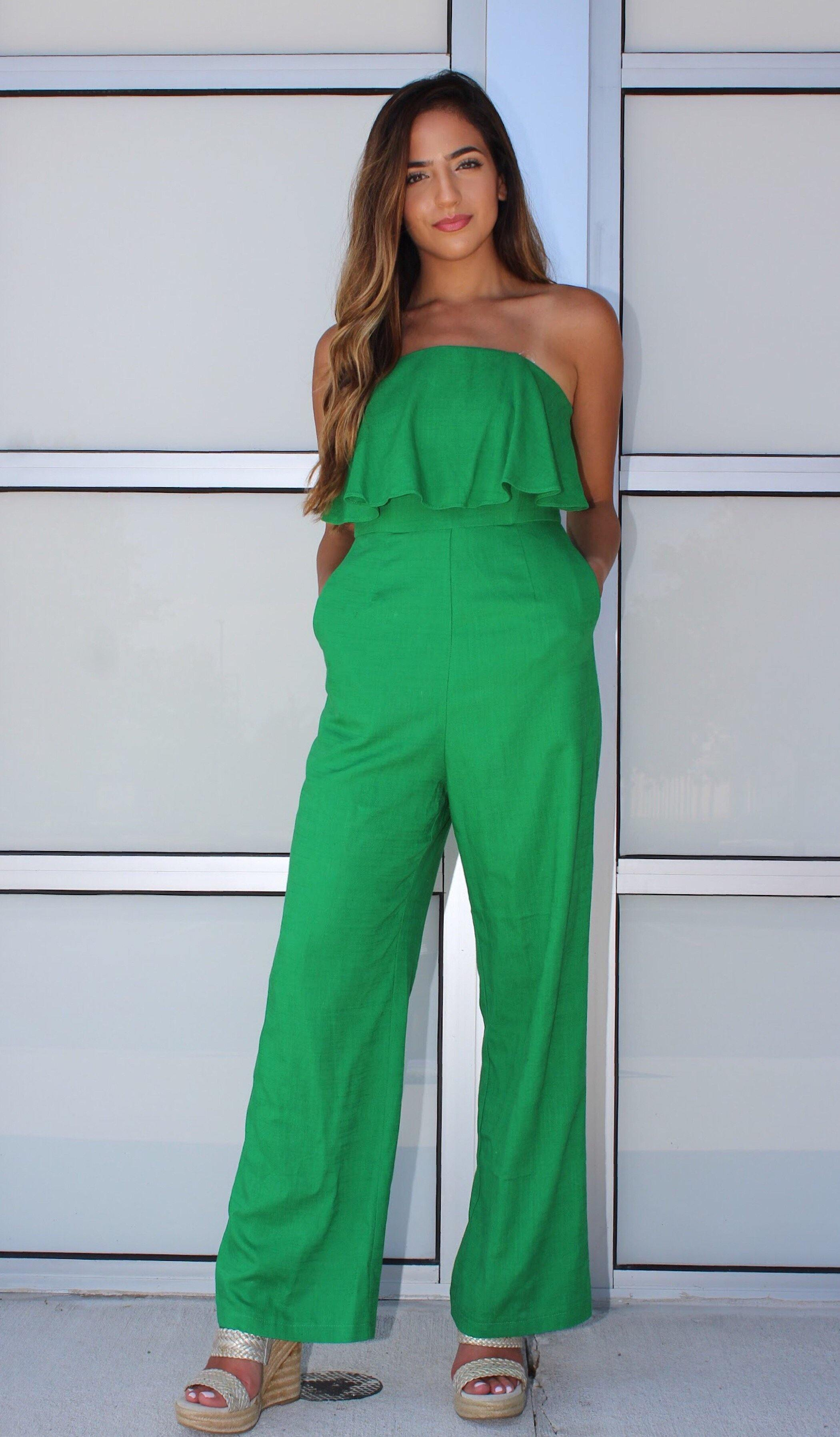 MARLEY JUMPSUIT - elbie boutique, LLC