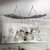 Reversible Arch Ceiling Pot Rack Hammered Steel