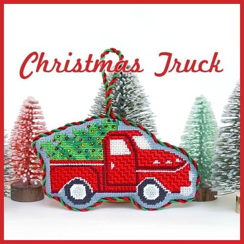 Christmas Truck Online Course Needlepoint.Com