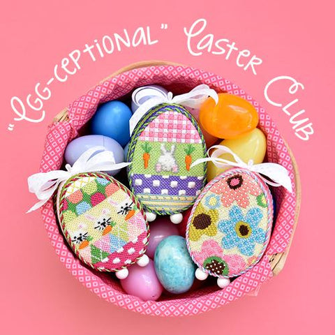 Egg-ceptional Easter Club Online Course Needlepoint.Com